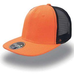 Chapéu Cap Boné laranja fluor